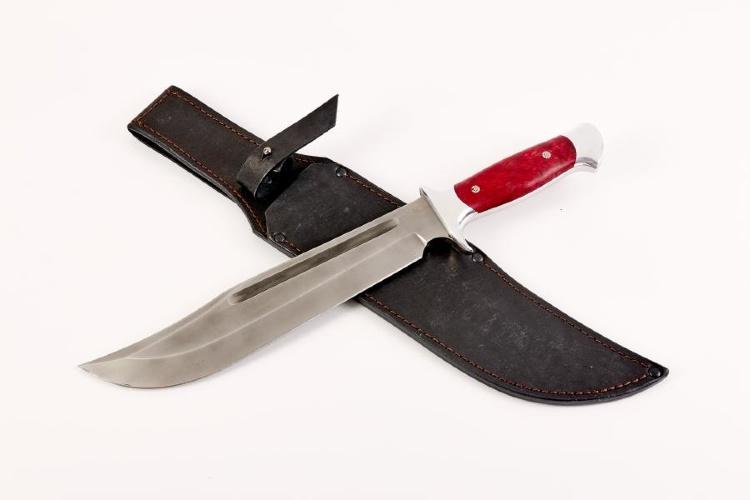 Нож ДАНДИ, К340, стабилизированная карельская берёза