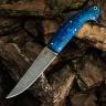 Нож НАВАХА, БУЛАТ, стабилизированная карельская береза