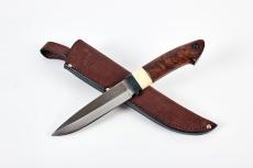 Нож НЭРКА, М-390, стабилизированное дерево