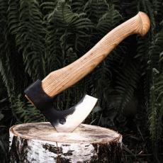 Кованый топор Походный большой со средней рукоятью