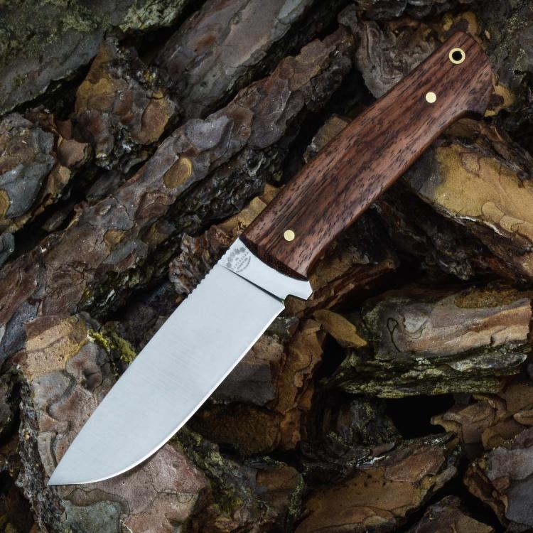 Цельнометаллический нож БРИГАДИР, N690, бубинга
