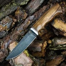 Охотничий нож ОЛЕНЬ, ХВ5, орех