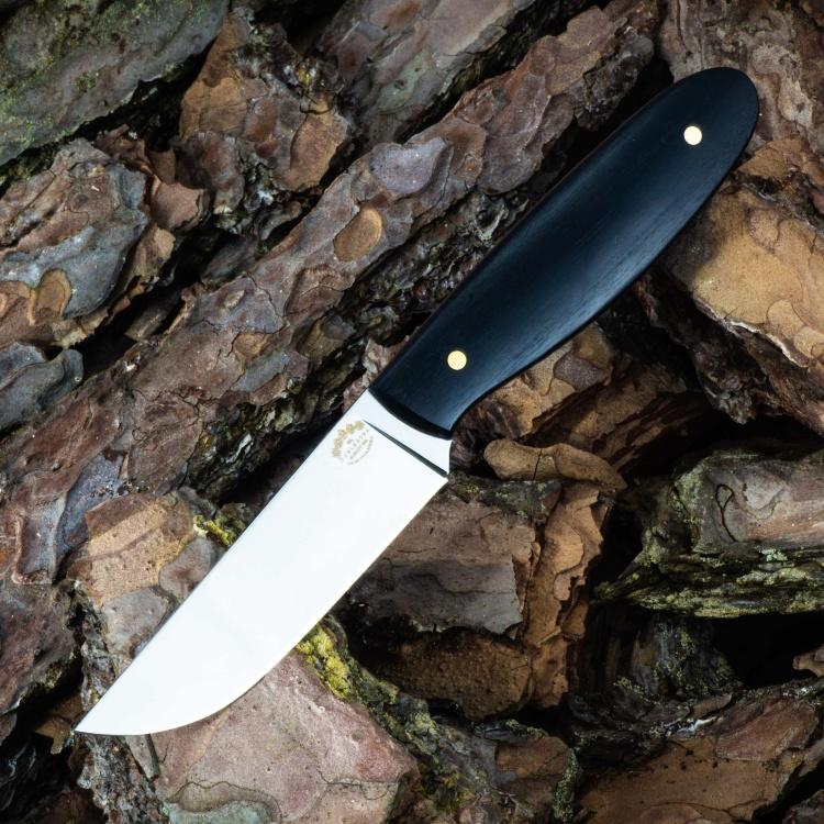 Цельнометаллический нож СИТИ, N690, граб