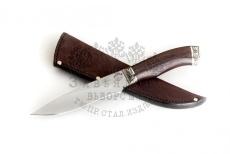 Нож Акула, 95Х18, венге