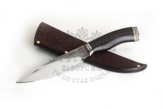 Нож Акула, 95Х18 со следами ковки, граб