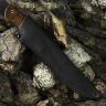 Охотничий нож ОЛЕНЬ, дамасская сталь, текстолит