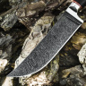 Нож ПЧАК МАЛЫЙ, дамасская сталь, граб