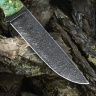 Универсальный нож ЦЕЗАРЬ, дамасская сталь, карельская береза