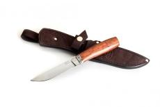 Нож ЛАДЬЯ, 95Х18, бубинга