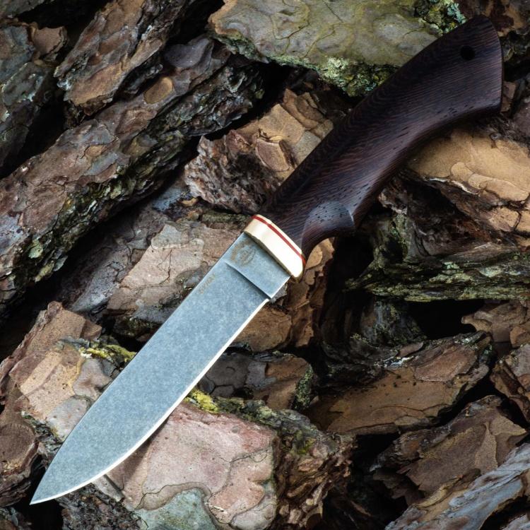 Нож ЛЕСНИК, БУЛАТ, венге