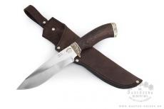 Нож ВОЛК, 95X18, венге