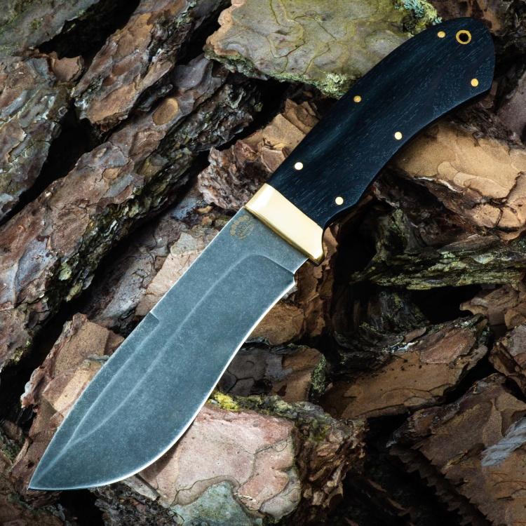 Нож АВРОРА-2, БУЛАТ, граб