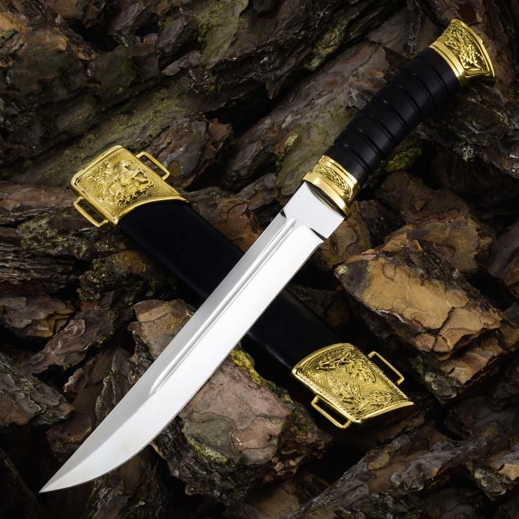 Нож ПЛАСТУНСКИЙ, Х12МФ, граб