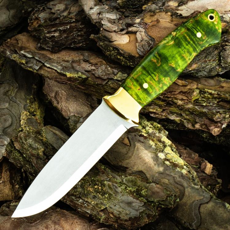 Нож Боцман, СКАНДИ СПУСКИ, стабилизированное дерево
