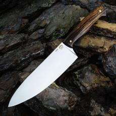 Нож ШЕФ №1, М390, айронвуд