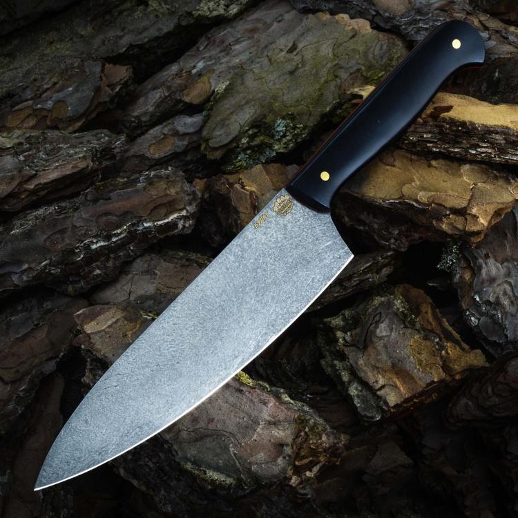 Нож ШЕФ №1, БУЛАТ, G10