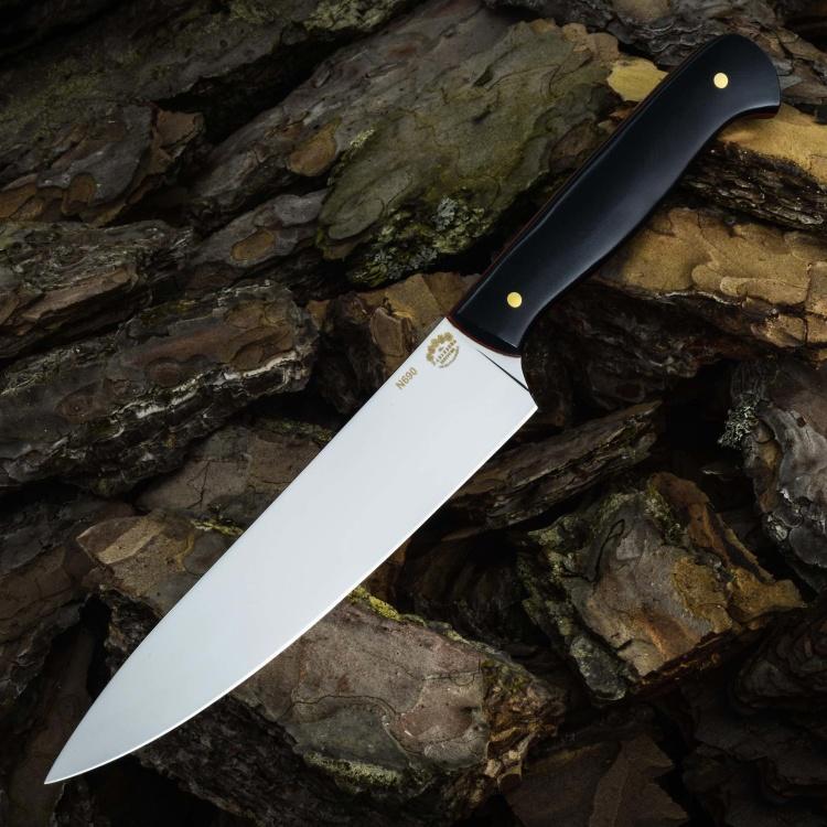 Нож ШЕФ СРЕДНИЙ №1, N690, G10