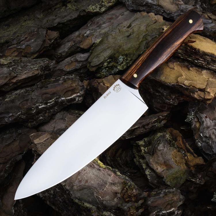Нож ШЕФ №1, ELMAX, айронвуд